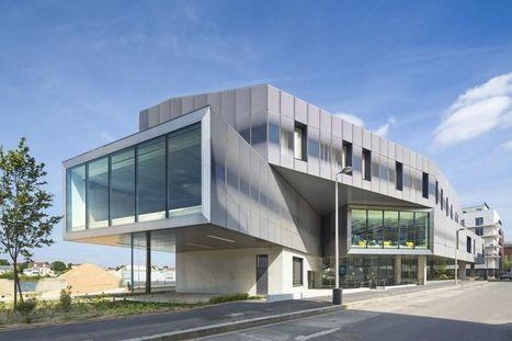 Médiathèque Aragon, havre du livre - Libération   Architecture et aménagement en bibliothèque   Scoop.it