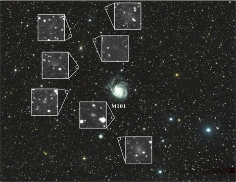 Found! Seven Dwarfs Surround The 'Pinwheel Galaxy' Field Of View | Vloasis sci-tech | Scoop.it