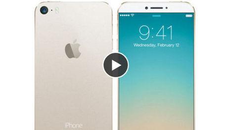 iPhone 6 : un concept épuré basé sur les rumeurs - Gentside | iphone 6 | Scoop.it