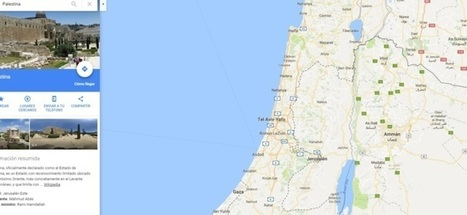 Google borra Palestina del mapa | I didn't know it was impossible.. and I did it :-) - No sabia que era imposible.. y lo hice :-) | Scoop.it