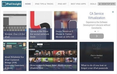 The (5) most useful features in Safari on the iPad | iPad Insight | E-learning | Scoop.it