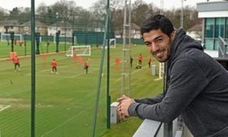 Luis Suárez returns to Liverpool to watch Jürgen Klopp's men train - The Guardian | AC Affairs | Scoop.it