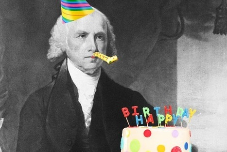 16 Fun Facts for James Madison's Birthday | US History | Scoop.it