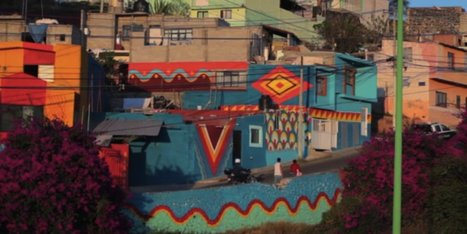 Street Artists Want To Repaint An Entire Town In Mexico, For A Good Cause | Art in public spaces | Scoop.it