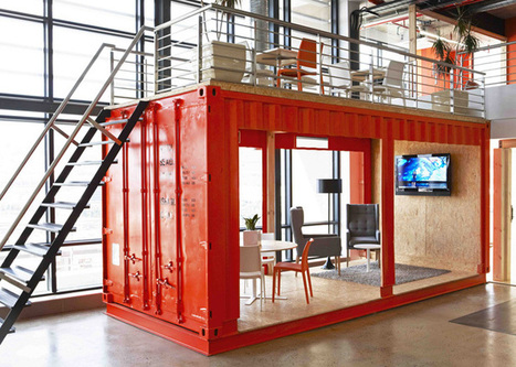 99c Office by Inhouse Brand Architects | workplace creativity: innovation et travail | Scoop.it