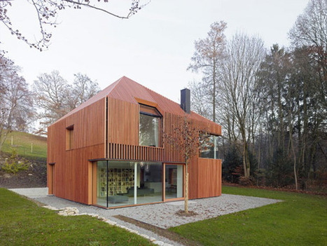 Sculptural Home in Munich Built Using Prefabricated Materials | sustainable architecture | Scoop.it