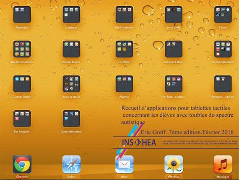 #Autisme : Applications en langue française pour tablettes numériques (iPad) | Digital games for autistic children. Ressources numériques autisme | Scoop.it