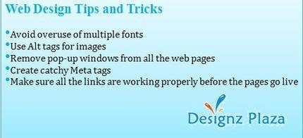 Web Designing Tips and Tricks | Web Design | Scoop.it