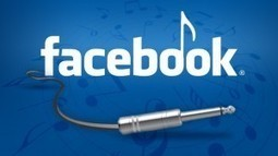 Le Top 5 des appli musique sur Facebook: Spotify leader | Infos sur le milieu musical international | Scoop.it