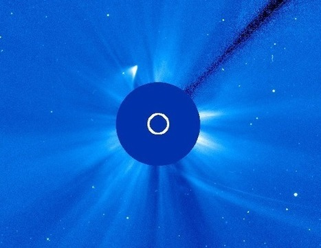 """Comet ISON appears to be toast - goes """"poof"""" in video, then comes back to life 