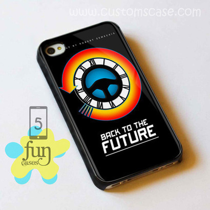 Back To The Future Analog iPhone 5 Case Cover from Funcases | Sport Merchandise | Scoop.it