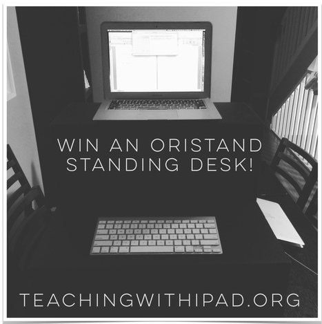 Oristand: An Affordable Standing Desk Solution [WIN ONE!] | iPads, MakerEd and More  in Education | Scoop.it