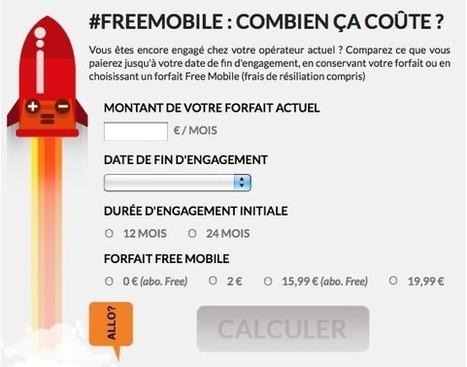 FreeMobile : combien ça coûte ?   Journalisme graphique   Scoop.it