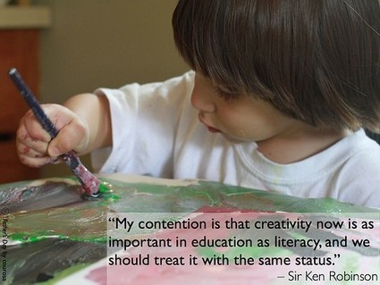 Creative Confidence Builds a Strong Future | Edudemic | learning and reading styles | Scoop.it