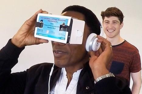 Hackathon muestra la promesa de la realidad virtual como herramienta de atención de la salud | eSalud Social Media | Scoop.it