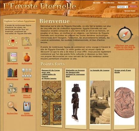 L'Egypte Eternelle – à partir de la bousole, chronologie, cartes, animations multimédia (3D, vues à 360°, animations, webcams, images zoomables)     zoenord   Scoop.it