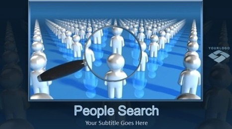 Animated People Search PowerPoint Template | PowerPoint Presentation | Pro | Scoop.it