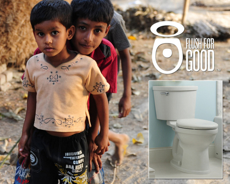 Saving Water and Saving Lives with Flush for Good {Win $200 Giftcard} - That's Vandy | Sustarchitectecture | Scoop.it