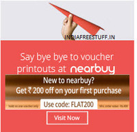 Nearbuy Deal: [New Users] Nearbuy Deals & Products Rs. 100 off  (No minimum purchase) | indiadime | Scoop.it