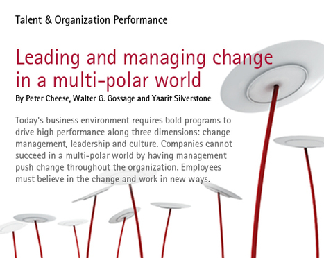 Change Management - Leading and Managing Change in a Multi-polar world | Motivation to Change | Scoop.it