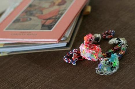 Algo sobre el Cool Rainbow Loom - Blog de rainbowloom | Rainbow Loom | Scoop.it