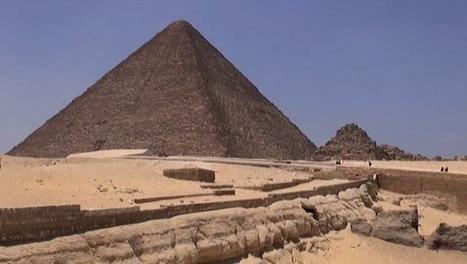 Avec la mission ScanPyramids, des drones vont ausculter les pyramides | Histoire et gestion du patrimoine culturel | Scoop.it
