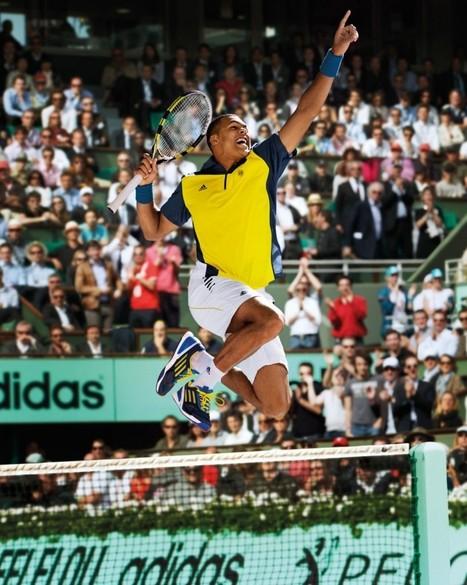 Roland Garros 2013 : la tenue Adidas de Jo Wilfried Tsonga - PKTennis | PK Tennis News | Scoop.it