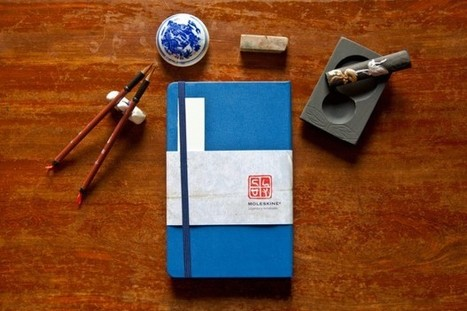 Moleskine Monday Chinese Menu | Notebook Stories | stationery | Scoop.it