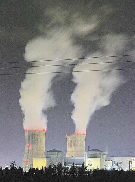 Des arrêts en série frappent les centrales nucléaires françaises - les Echos | Actualités écologie | Scoop.it