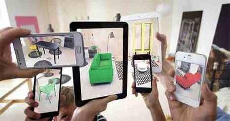 l'Application Ikea en Réalité Augmentée - La Réalité Augmentée   Réalité augmentée (augmented reality)   Scoop.it
