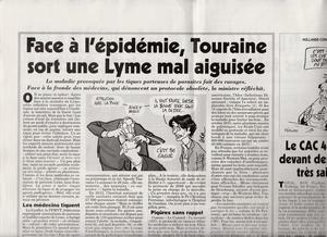 Face à l'épidémie, Touraine sort une Lyme mal aiguisée | Variétés entomologiques | Scoop.it