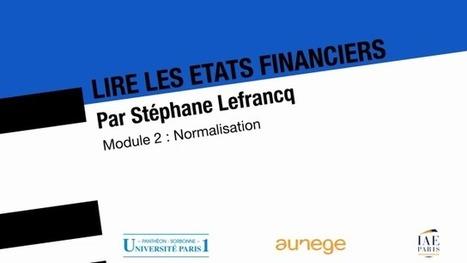 Lire les états financiers : 02 normalisation | mes liens | Scoop.it