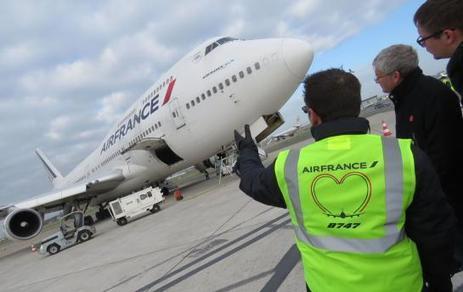 Au Bourget, l'adieu au dernier Boeing-747 d'Air-France | Aviation & Airliners | Scoop.it