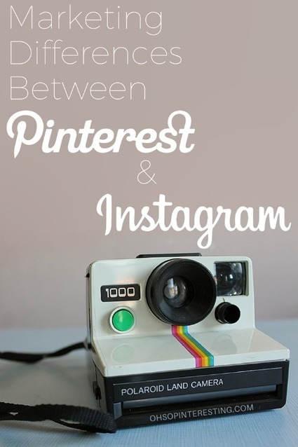 Marketing Differences Between Pinterest and Instagram | Artdictive Habits : Sustainable Lifestyle | Scoop.it