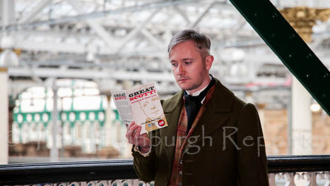 'Sir Walter Scott' at Waverley Station | Edinburgh Stories | Scoop.it
