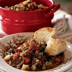 Lentil Stew with Ham and Greens | MyRecipes.com | Cooking | Scoop.it