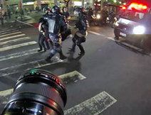 Gripping point-of-view video footage shows photographer covering protests in Brazil | HDSLR | Scoop.it