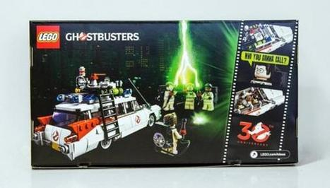 "Compare The LEGO ""Ghostbusters"" Ecto-1 Concept To The Final Set 