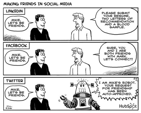 10 Social Media Cartoons Guaranteed to Make You Smile | Action Tasks - Startups | Scoop.it