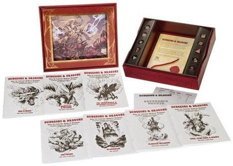 Premium Original D&D RPG Boxed Game Gets Re-Released | All Geeks | Scoop.it