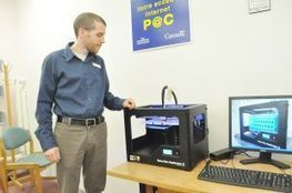 3D printing comes to New Glasgow | Fablab, Makerspace en bibliothèque | Scoop.it