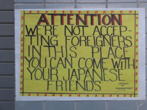 Is Japan really racist? A look at where things stand | Socio-Politieke problemen in Japan 2013-2014 | Scoop.it