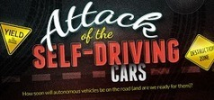 33rd Square: Attack of the Self-Driving Cars Infographic | Teacher Tools and Tips | Scoop.it