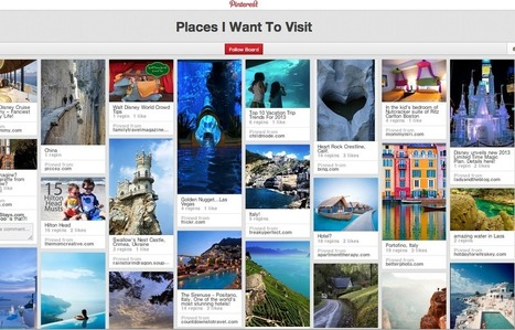 3 Reasons Why Pinterest is a Good Tool for Destination Marketing | Tourism Social Media | Scoop.it