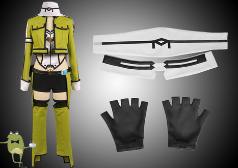 SAO Sinon Cosplay Costume for Sale | Anime Cosplay Costumes | Scoop.it
