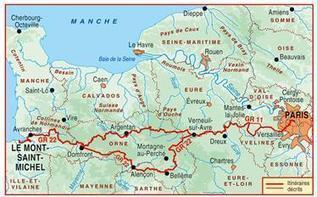Topo-guide FFRandonnée 220 - Chemin vers le Mont-Saint-Michel | Actualité et tourisme  Sud de l'Eure | Scoop.it