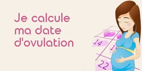 Calcul date d'ovulation et des jours fertiles | Maison et Santé | Scoop.it