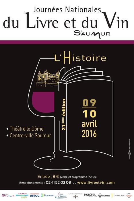 Les Journées Nationales du Livre et du Vin | Les Mots et les Langues | Scoop.it