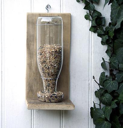 *** Mangeoire à graines, Esprit Cabane, idees creatives et ecologiques | Potager & Jardin | Scoop.it