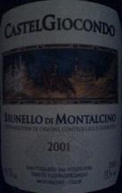 2001 Castelgiocondo (Marchesi de' Frescobaldi) Brunello di Montalcino, Italy, Tuscany, Montalcino, Brunello di Montalcino - CellarTracker! | Wine in Tuscany | Scoop.it